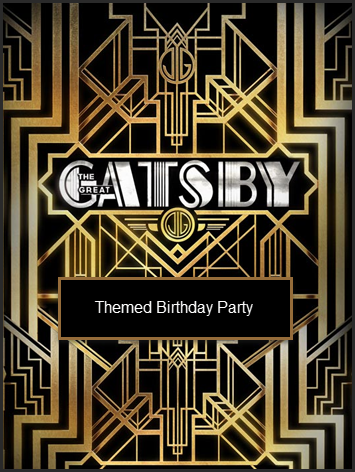 """Great Gatsby"" sweet 16 Birthday Party Toronto"